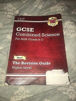 CGP 9-1 GCSE Combined Science: AQA Revision Guide Higher Level