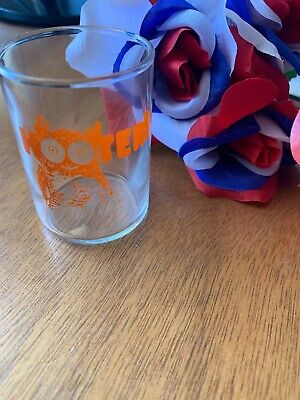 Vintage Hooters Souvenir Shot Glass -HAS NEVER BEEN USED ONLY $1.00