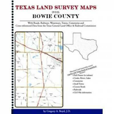 Texas Land Survey Maps for Bowie County