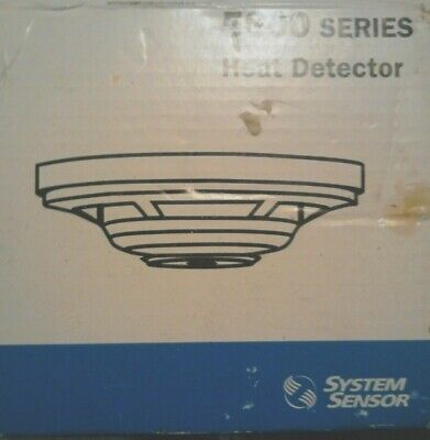 System Sensor 5600 Heat Detector Fixed 135  5603  New Make Offer 1 Day Only