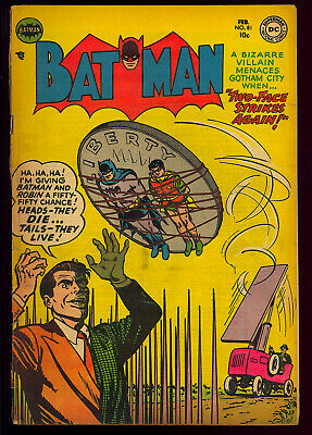 Batman #81 Two-Face Cover/Story Pre-Code Golden Age DC Comic 1954 FR