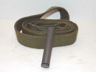 Us Army Wwii M1 30 Carbine Sling With Oiler Marked Bk (Blake Mfg)-Unissued-Nice