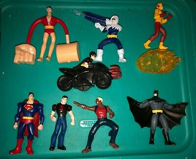 McDonalds Young Justice lot of Happy Meal Toys