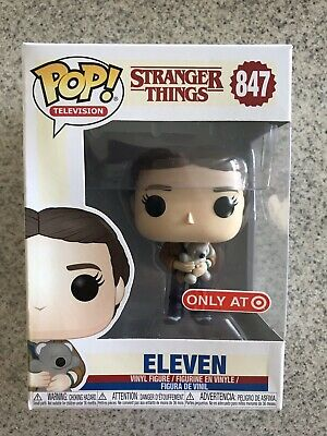 Funko Pop Stranger Things ELEVEN (WITH TEDDY BEAR)! Target Exclusive! New! #847