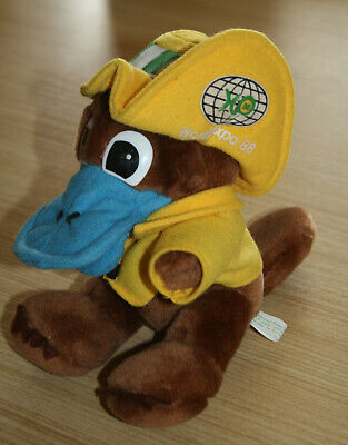 World Expo 88 Platypus Mascot Plush