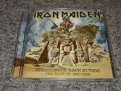 Iron Maiden: Somewhere Back in Time: The Best of 1980-1989 Metal CD 2008 U.S.