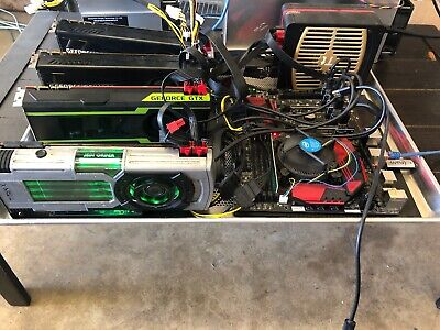 4x 1080TI Crypto Mining Rig -USA Seller- Free Shipping! Make An Offer! Must Sell