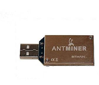 Antminer Bitmain U1 USB Upgraded Bitcoin ASIC Miner with rare Overclock Heatsink
