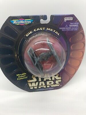 1996 Star Wars Micro Machines TIE Fighter Diecast Vehicle Collectible Toy Rare