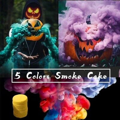 Colorful Smoke Cake Smoke Effect Show Photography Aid Toy Halloween Background