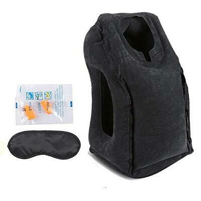 AirGoods Travel Pillow - Multifunctional Inflatable Pillows for Black