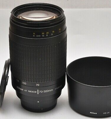 Nikon AF Nikkor 70-300mm 1:4-5.6G Lens use for DIGITAL INC full frame FX