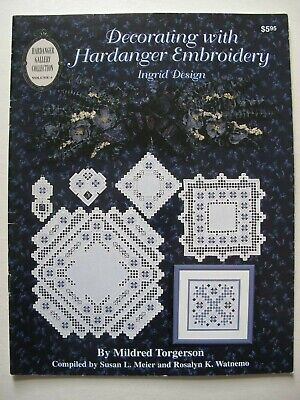 DECORATING WITH HARDANGER EMBROIDERY - Ingrid Design - Embroidery Patterns
