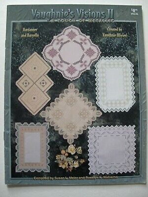 VAUGHNIE'S VISIONS II - A Touch of Metallic - Hardanger and Bargello Patterns