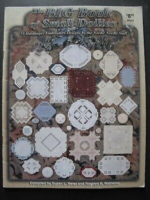 The BIG BOOK of SMALL DOILIES - 32 Hardanger Designs