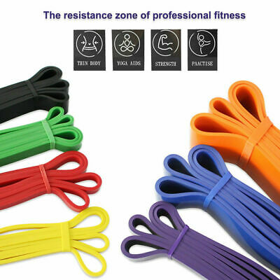 XN8 Heavy Duty Resistance Band Pull Up Loop Gym Fitness Exercise Yoga Workout UK