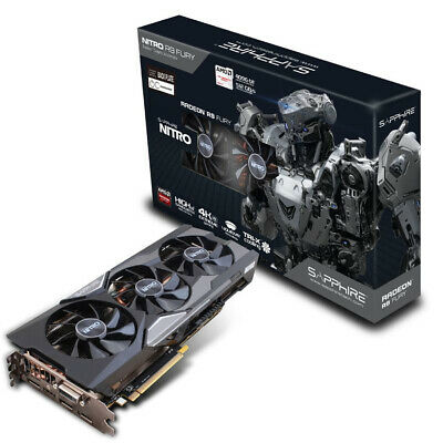 Powerful Amd Gpu _ Sapphire Radeon Nitro R9 Fury 4Gb _ Hdmi Dvi-D Dp