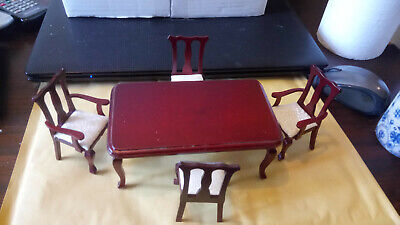 Dolls House Furniture  Dining Room set of 5