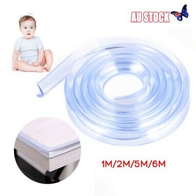 Baby Safety Desk Table Edge Corner Protector Cushion Guard Strip Soft Bumper NEW