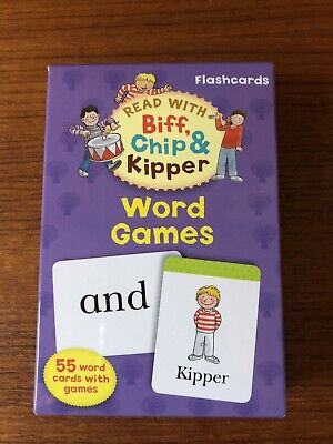 Oxford Reading Tree Read with Biff, Chip, and Kipper Flashcards: Word Games,