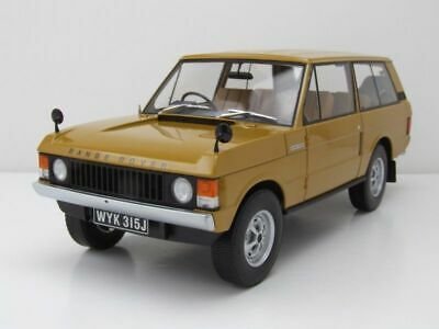 Land Rover Range Rover RHD 1970 gelb, Modellauto 1:18 / Almost Real