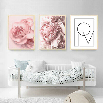 Nordic Tulip Flower Canvas Wall Painting Picture Poster Art Home Decoration Cool