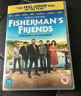 DVD FISHERMAN'S FRIENDS 2019 VGC Fisherman's Friends