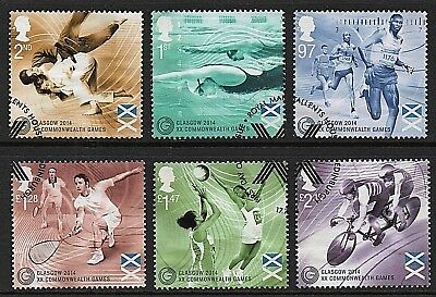 GB Stamps 2014 'Commonwealth Games' - Fine used
