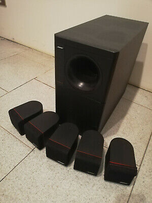 Bose Acoustimass 6  Red Line----Home Theater Speaker System