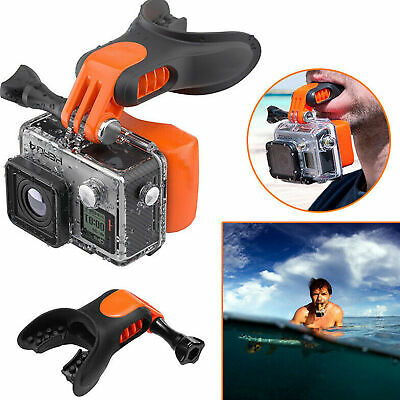 Surfing Skating Bite Mouthpiece Mouth Mount Floaty For GoPro Hero 7 6 5 Black