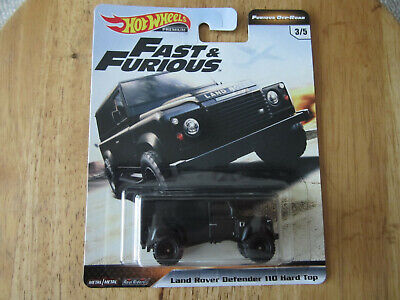 HOT WHEELS 2019 FAST & FURIOUS LAND ROVER DEFENDER 110 off road NEW RELEASE