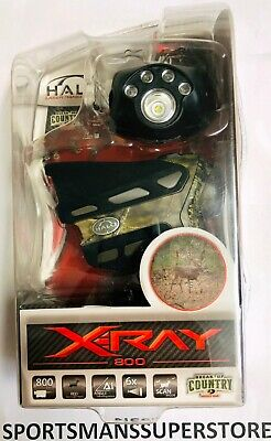 2317 Brand New Retail Box Halo X-Ray 800 Yard Laser RangeFinder Camo No Reserve