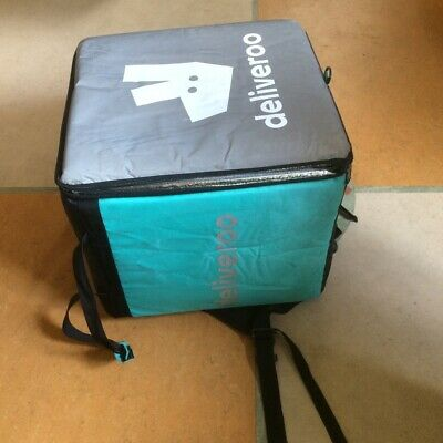 Large Thermally Insulated Deliveroo Bag with Smaller Insulated Bag
