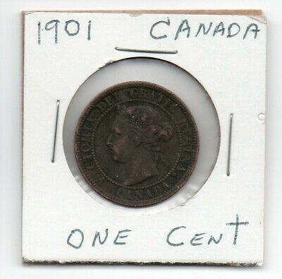 1901 Canada One Cent Us Coins