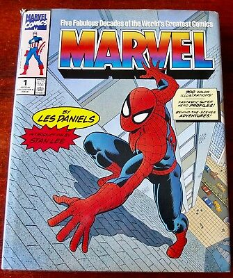 Marvel Five Fabulous Decades Of The World's Greatest Comics Book (1991) Uk
