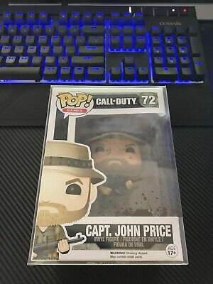Funko POP! Games Call of Duty Capt. John Price #72