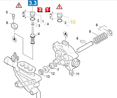 Kit De Pieces De Rechange Repere 11 R/éf/érence 90016930 Pour Karcher