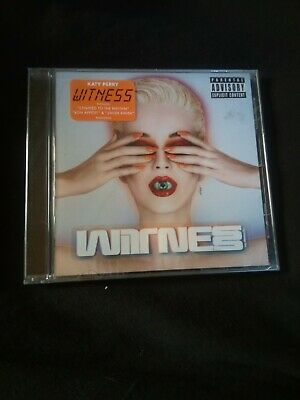 Witness by Katy Perry (Sealed, CD, Jun-2017, Capitol)