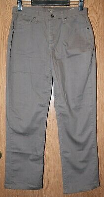 Womens Brown Beige Riders by Lee Flat Front Khaki Pants Size 10 excellent