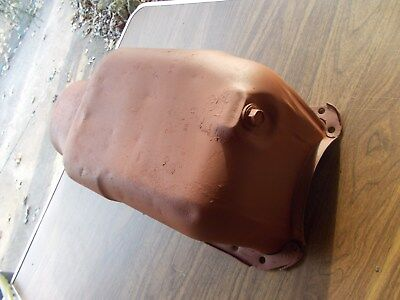 BBC Mark IV Chevy 396 427 Trap Door GM HP Oil Pan Very Solid Baffle Is Butchered