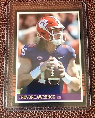 Trevor Lawrence Rookie Card Clemson Tigers Quarterback