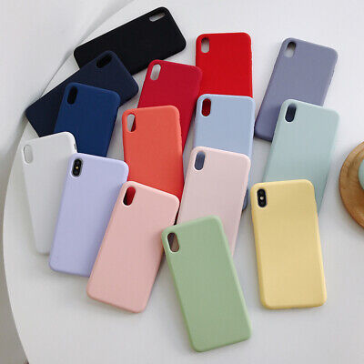 TPU Silicone Housse Coque pour Apple iPhone 11 Pro Max X 7 8 6 6s Plus XS Max XR