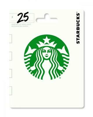 Starbucks $25 Gift Card, Email delivery, ship directly from amazon