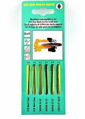 """New Makita 722102-A PACK OF 12 PZ 5/"""" Scroll Saw Blade Plain End Universal No.5R"""