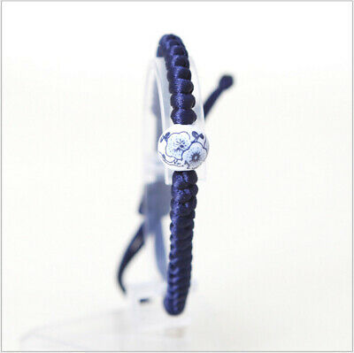 Simple New Fashion Blue white porcelain bracelet original hand-woven bracelet