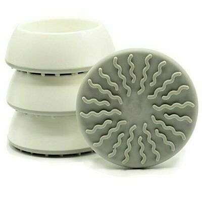 4 Pack Baby Gates Wall Cups, Safety Wall Bumpers Guard Fit For Bottom Of Gates,
