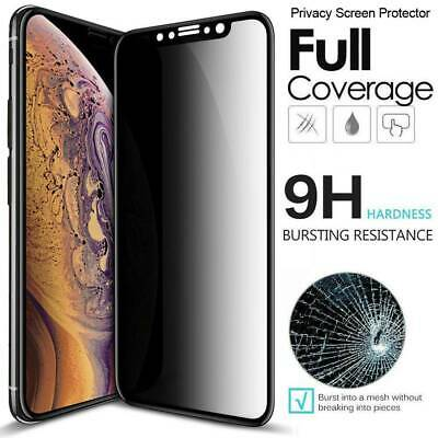 Full Cover Antispy Private Tempered Glass Screen Protector For iPhone 11 Pro Max