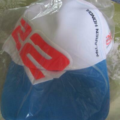 Official McLaren Honda F1 Jenson Button Formula One Jenson 22 Cap NEW