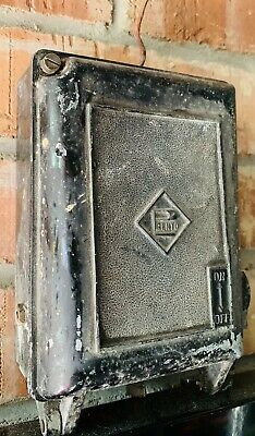 Vintage industrial PRENTO Switch Box Assy . Victorian Factory Clear Out .
