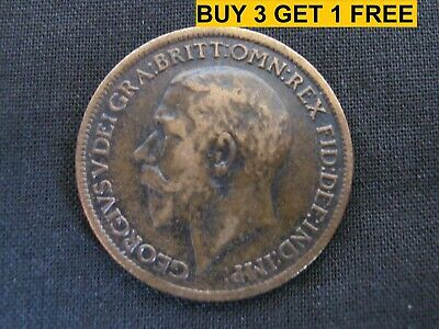 1911 to 1936 George V Bronze Farthing Your Choice of Year